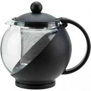 Glass Teapot 25 oz. with Infuser Basket